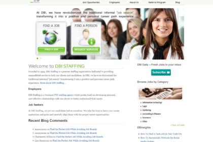DBI Staffing: New York, NY